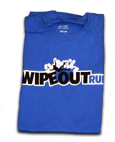wipeout run shirt blue