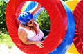 WipeOut Ring a ding lachende vrouw